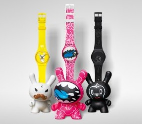 Swatch And KidRobot Watches: Treasure Chest