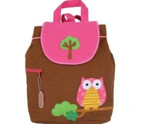 Owl print rucksack