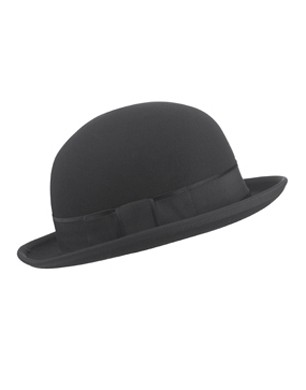 Pure Wool Bowler Hat
