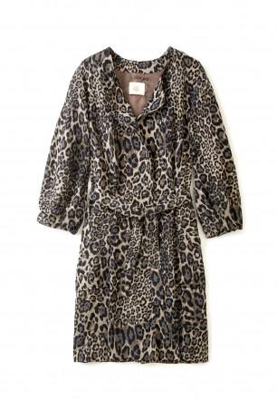 MW Leopard Print Coat
