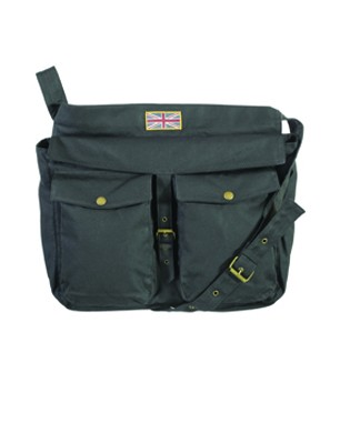 Waxed Union Jack Retriever Bag
