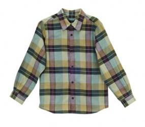 Bonpoint boys checked shirt