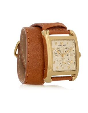 Leather MK2227 Watch
