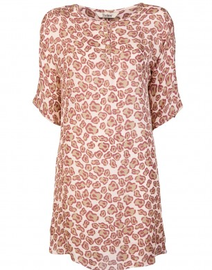 Leopard 'Henley' Dress