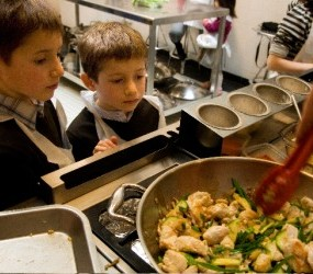 'Kids Can Cook' at L'atelier des Chefs