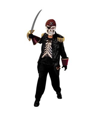 Sea Plague Boy's Costume