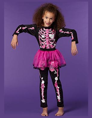Skeleton Tutu Halloween Costume