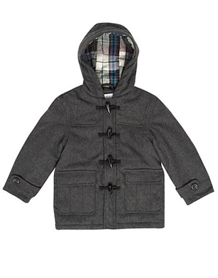 Boys Grey Duffle