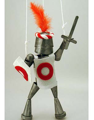 Crafts 4 Kids Knight String Puppet Kit