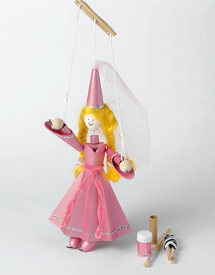 Make Your Own Princess Puppet