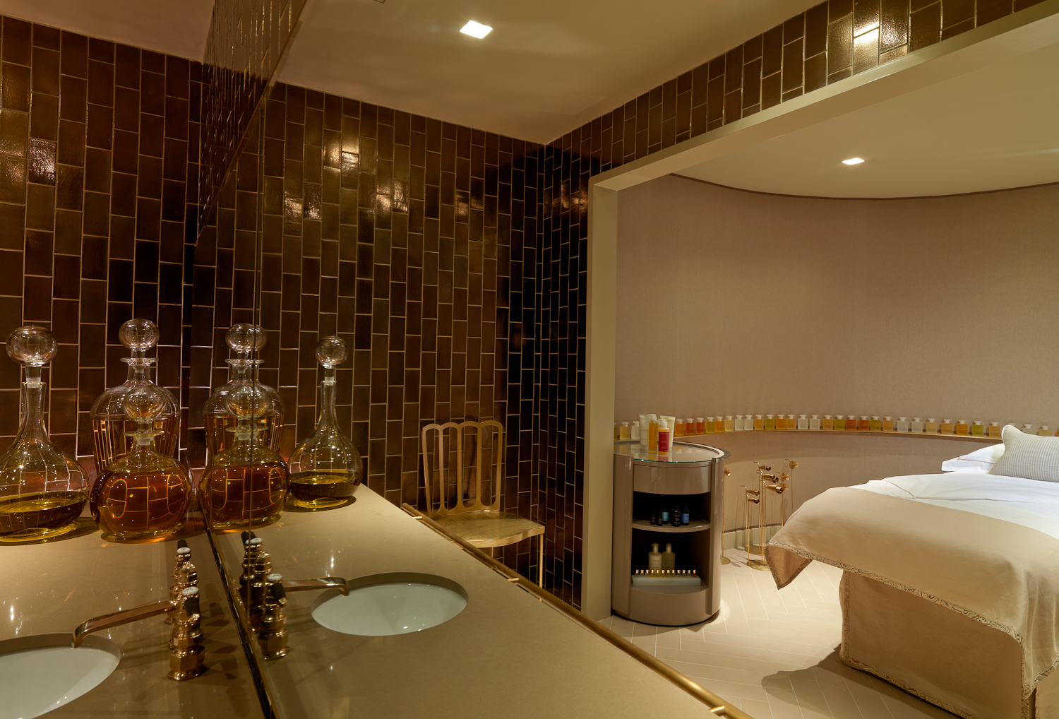 Aroma Spa Room Color ~ City stress buster at aromatherapy associates stylenest