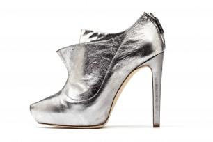 Rupert Sanderson Silver Shoe