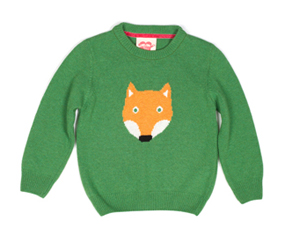 ANIMAL JUMPERSTootsa MacGinty Fox Knitted Jumper