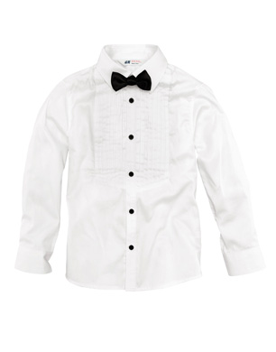 Tux Shirt With Bow Tie