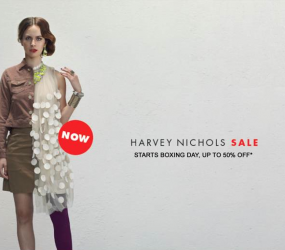 Harvey Nichols Winter Sale Campaign by DDB UK