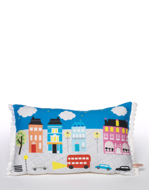 London at Night Cushion