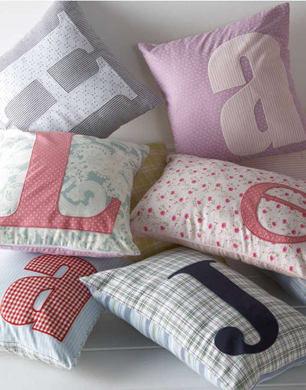 Made with Love Letters Cushions