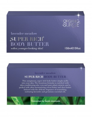 Organic Surge Lavender Body Butter