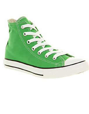 Classic Green All Star Hi-Tops