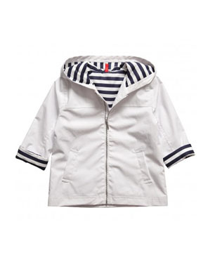 Nautical Stripe Raincoat