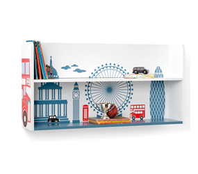 London Town Wall Shelf - The Great Little Trading Company