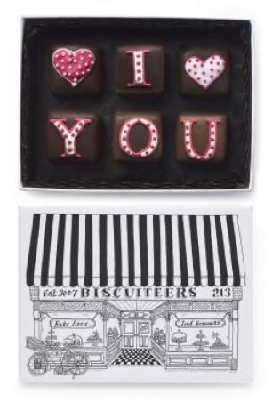 Biscuiteers Valentine's Chocolates