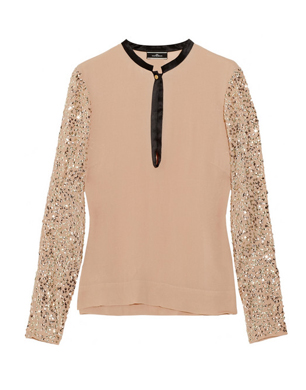 Dorothea Sequined Top