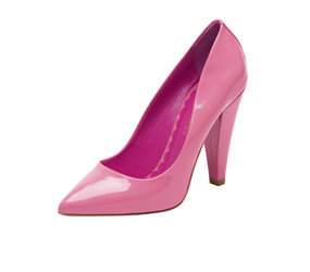 Candy Pink Patent Shoe Mulberry