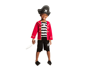M&S Pirate costume