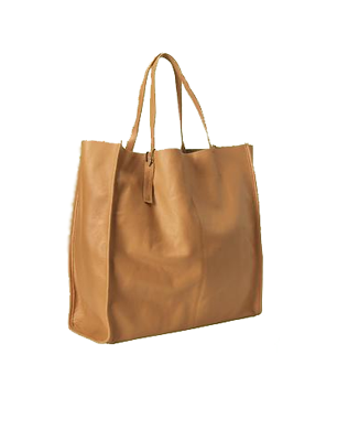 Gap Leather Travel Tote