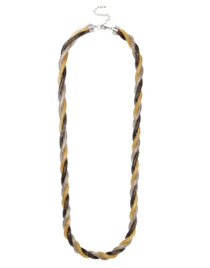 Jaeger Twister Tubular Chain Necklace