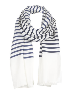 Jigsaw Sailor Stripe Scarf