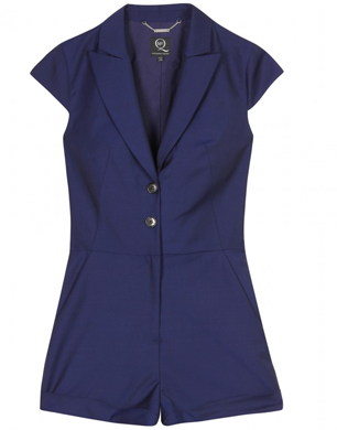 McQ Alexander McQueen Tailored Playsuit