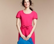 Goat pink dress, bow £439 at fenwick.co.uk