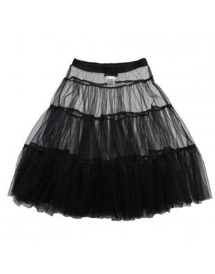 Roma E Toska Navy Blue Longer Length Tutu Skirt