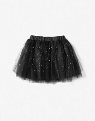 Black Tutu with Sequins