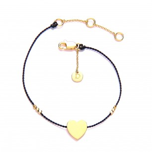 Daisy Karma Bracelet with heart charm