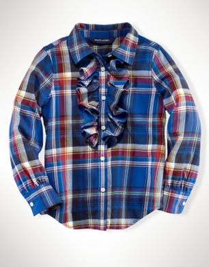 Brushed Twill Plaid Shirt