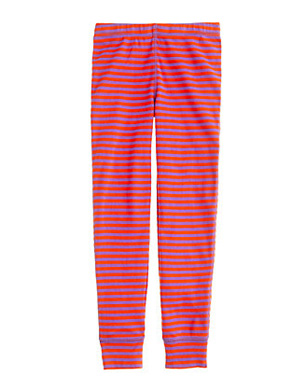 Girls Sleep Pant in Posie Stripe