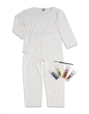 Paint Your Own Pyjamas
