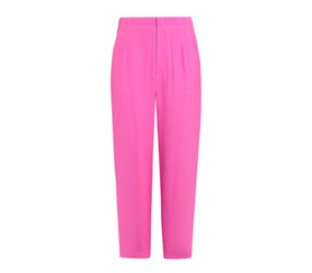 Pink cropped pants by Raoul