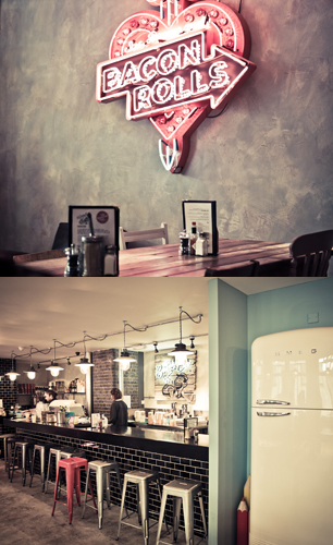 The Breakfast Club cafe interior