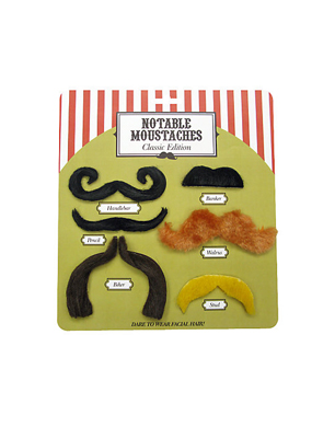 Notable Moustache Set