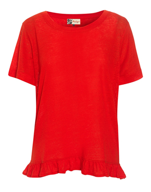 Boutique at Jaeger Frilled T-Shirt