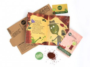 Chrissie Cress Seed Pack from the Secret Seed Society