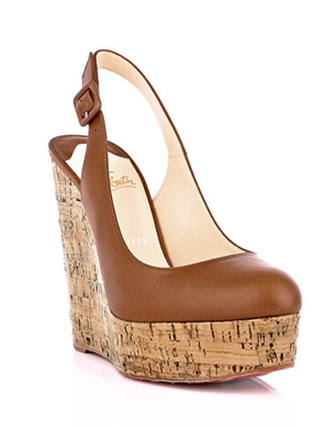 Christian Louboutin Altike Wedge Shoes