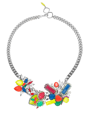 Colour Me Crazy Swarovski Crystal Necklace