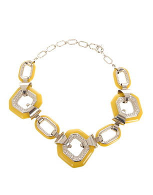 Giambattista Valli Antimony and Glaze Necklace