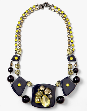 Marc by Marc Jacobs Midnight Purple Margery Necklace