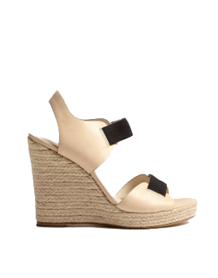 Michael Michael Kors Almond Windsor Jute Wedge Sandal